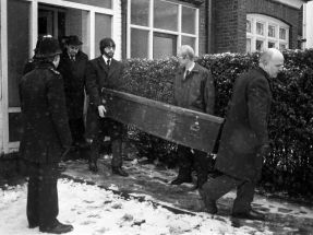 Coffin removed from Dennis Nilsen's homes