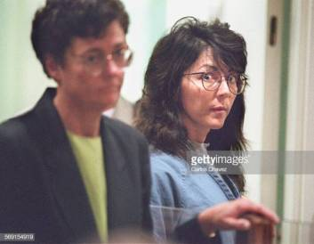 Diana Huan, was arrigned in Ventura County Court Monday morning for the murder of Sherri Dally. (Photo by Carlos Chavez/Los Angeles Times via Getty Images)